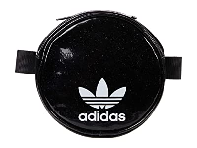 adidas Originals Originals Glitter Circle Waist Pack (Black Glitter) Handbags