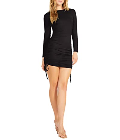 BB Dakota x Steve Madden # 1 Crush Long Sleeve Adjustable Rib Knit Mini Dress Women