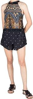 Lofbaz dam Rayon tryckt crop top och kjol set mini klänning