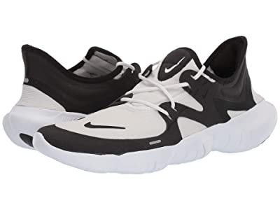 Nike Free RN 5.0 (White/Black/Black) Men