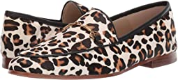 White/Brown Multi Pop Leopard Brahma Hair