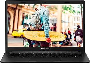 "Medion E4251 MD62003 Negro Portátil 14"" FullHD Celeron N4020 64GB 4GB Ram Windows 10 Home"