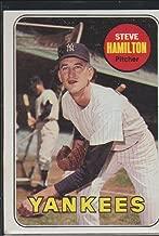 1969 Topps Steve Hamilton Yankees Baseball Card #69