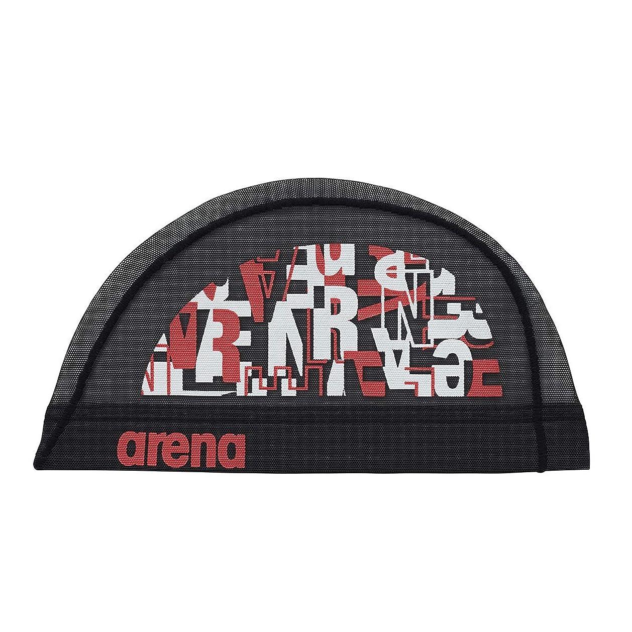 症候群医薬品吸収arena(アリーナ) スイムキャップ スイミングキャップ メッシュ ロゴデザイン FAR-9918