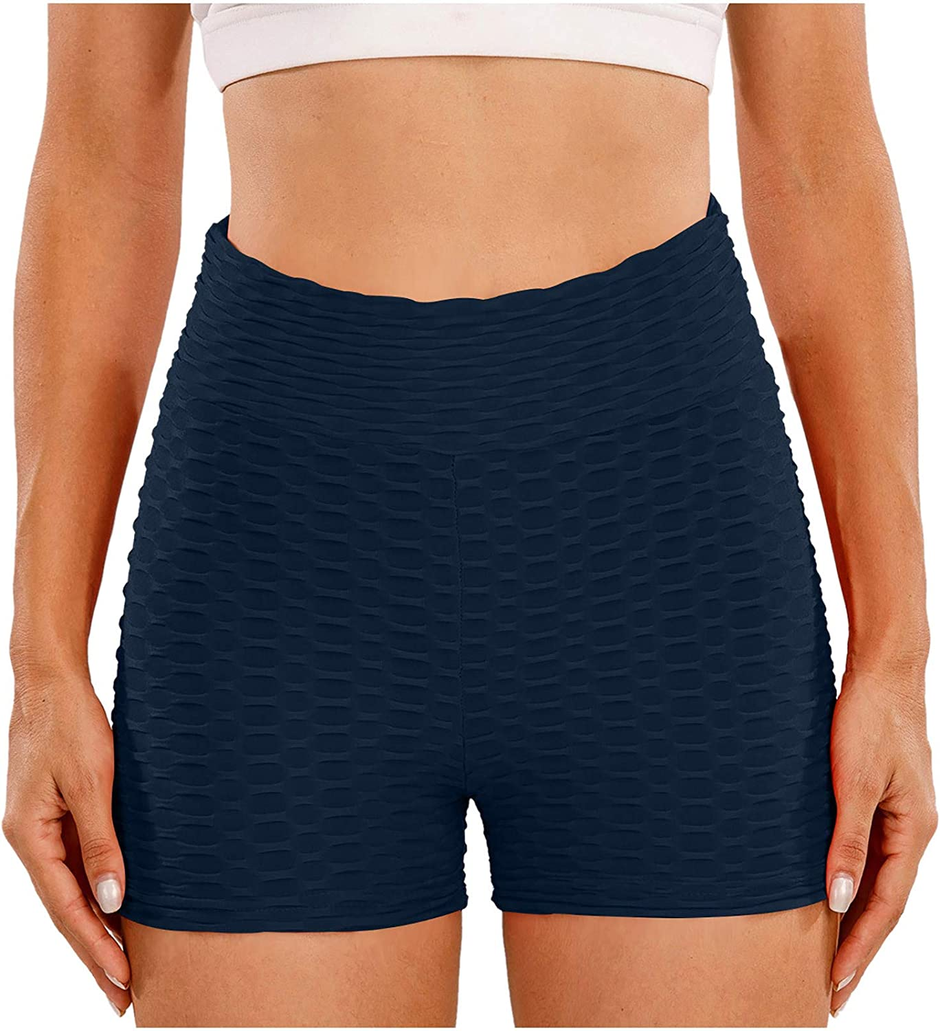 Gwewei4df 2PC High Waist Ranking TOP15 Yoga Shorts Super sale F Pants Exercise Multicolor