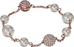 Swarovski Remix Collection Mixed White Crystal Pearl Bracelet
