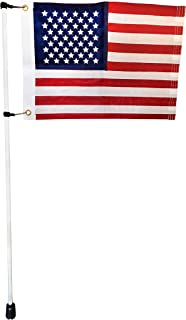 Zammi Boat Flag Pole for Rod Holders and Rocket Launchers