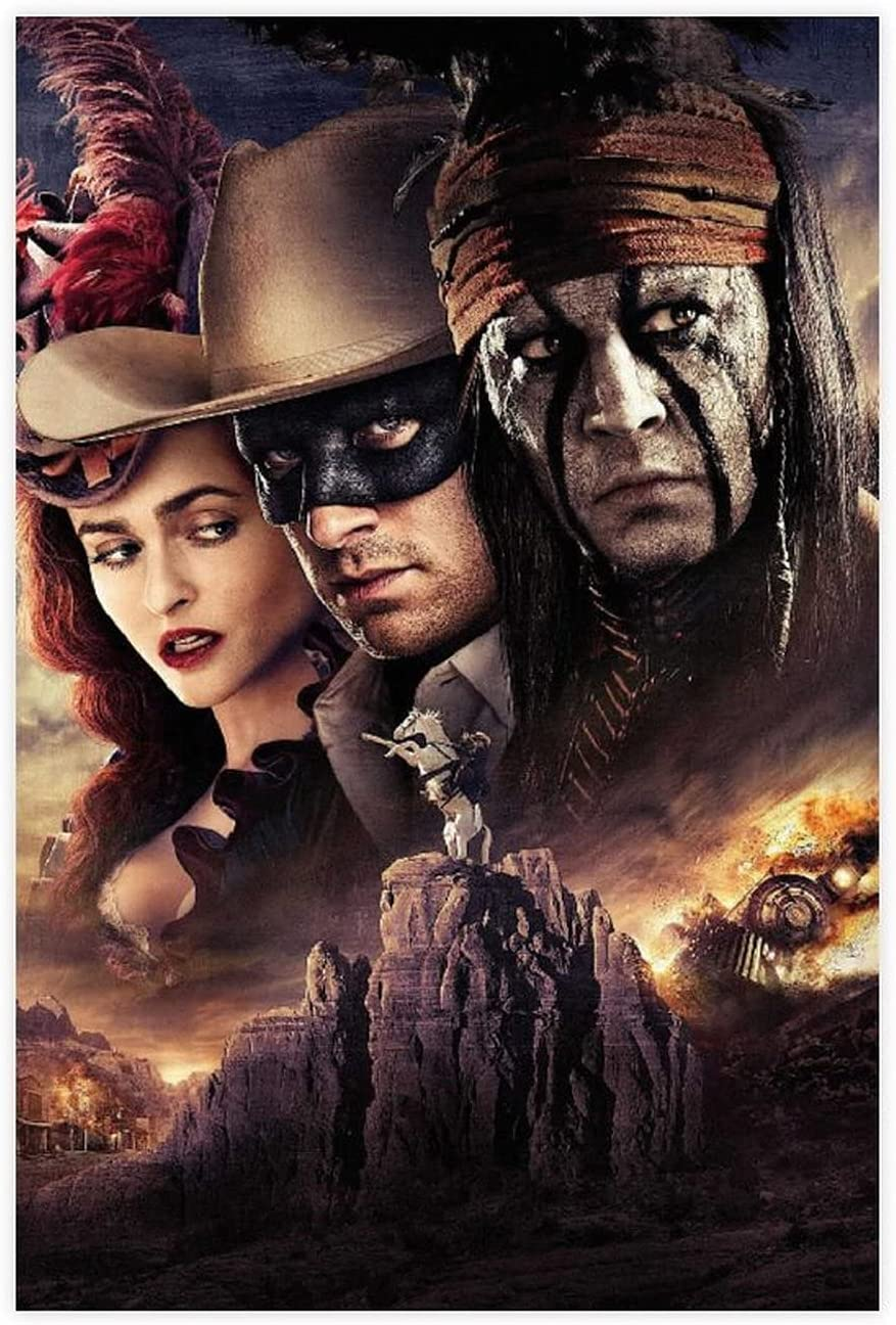 The Lone Ranger Classic Popular 89 Houston Mall Spring new work Be Movie Poster Canvas