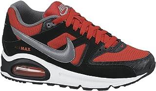 Nike Air Max Command (GS) Calzature, Rosso/Nero/Grigio/Bianco
