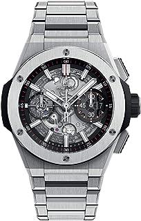 ساعت Hublot Big Bang Integraral Chronograph Flyback Titanium Watch 42 mm، Skeleton Dial، 451.NX.1170.NX