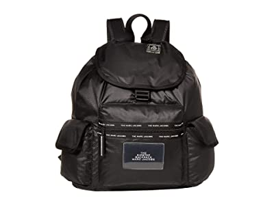 Marc Jacobs The Ripstop XL Backpack (Black) Backpack Bags
