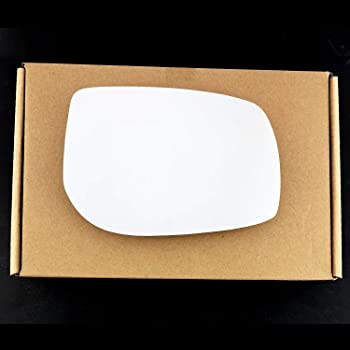 Driver Side TO-Yaris 2006 to 2011Heated Silver Wing//Door Mirror Glass Including Base Plate RH