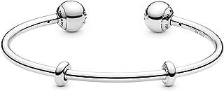 Pandora Damen Silber Armreif Logo 596477-16