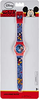 Disney Mickey Boys Analog Dial Wristwatch - SA7506 Mickey