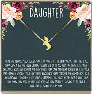 Best to my daughter necklace from dad Reviews