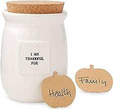 Mud Pie Thankful Blessings Jar