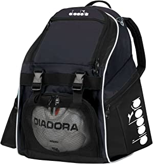 Diadora Squadra II Soccer Backpack, Black