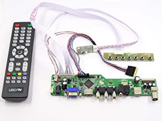 FidgetFidget Kit for N156B6-L0B TV+HDMI+VGA+USB Controller Driver Board