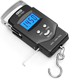 [Backlit LCD Display] Dr.meter PS01 110lb/50kg Electronic...