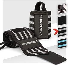 sportanics® Wrist Wraps - Polsbandages voor Fitness, Bodybuilding, Krachtsport & Crossfit, Polsbandage flexibel Instelbaa...