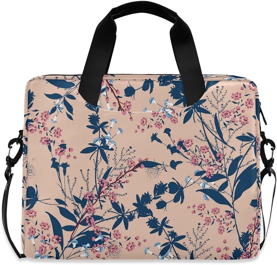 Jzddou Funky Tropical Flowers Max Large discharge sale 68% OFF Shoulder Messeng Laptop Waterproof