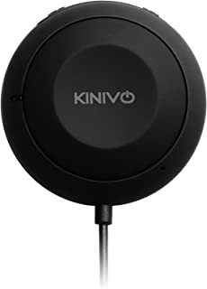 Kinivo BTC450 Bluetooth Car Kit (Hands-Free Adapter for Cars with 3.5mm Aux Input, Apt-X)