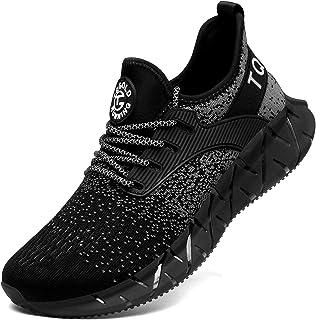 TQGOLD® Uomo Donna Scarpe da Ginnastica Corsa Sportive Sneakers Running Basket Sport Outdoor Fitness Respirabile Mesh
