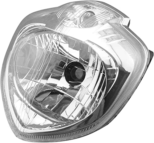 2021 Mallofusa lowest Motorcycle Front Headlight Headlamp Assembly Compatible for Yamaha FZ6 FZ600 2005 2006 online 2007 2008 Clear Lens sale