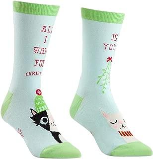 Sock It To Me Donna al Ginocchio Socks-All I Want Per NATALE
