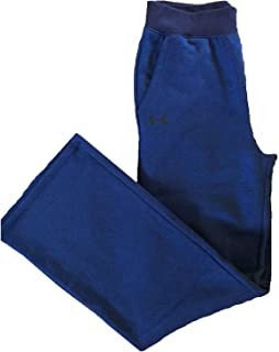 Women's Sweat Pants Threadborne Fleece Open Hem Blue