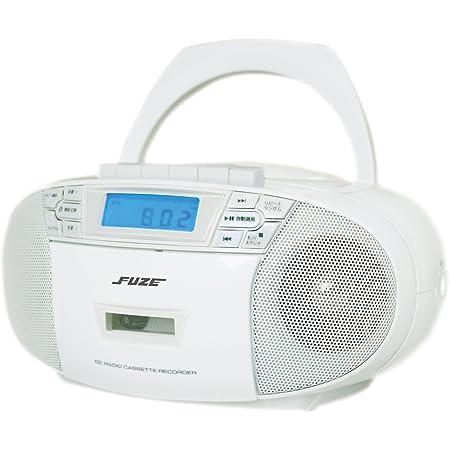 CD・AM/ワイドFMラジオカセットプレーヤー
