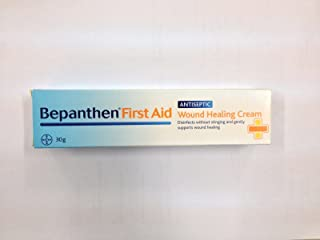 M# Bayer Bepanthen First Aid Cream 30g for Antiseptic Wound Healing Inflam Skin