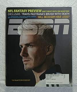 David Beckham - Los Angeles Galaxy - ESPN Magazine - July 30, 2007 - Soccer