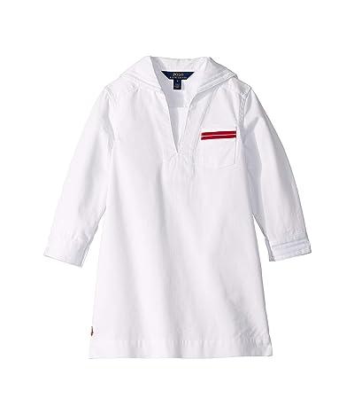 Polo Ralph Lauren Kids Nautical Woven Dress (Little Kids) (White) Girl