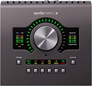 Universal Audio Apollo Twin X QUAD Thunderbolt 3 Audio Interface, (APLTWXQ)
