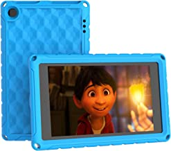 All-New Fire HD 8 Tablet Kids Case, Fire 8 Kids Case – Light Weight Shock Proof Kids-Friendly Case for Fire HD 8 inch Tablet Cover(Compatible with 8th/7th/6th Generation, 2018/2017/2016 Release), Blue