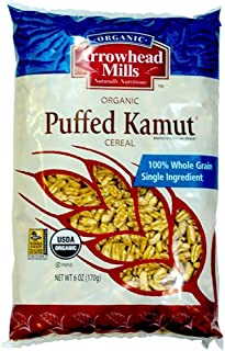 Arrowhead Mills Organic Cereal Puffed Kamut-6 oz (2 Pack)