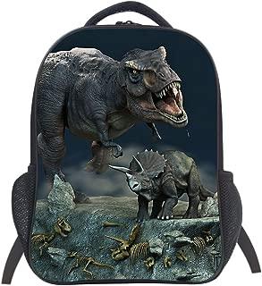 Dinosaur School Bag Rucksack Backpack (Dinosaur 2 14 Inch)