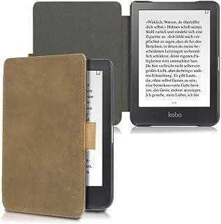 kalibri Kobo Clara HD Hülle   Leder eBook eReader Schutzhülle Cover Case für Kobo Clara HD