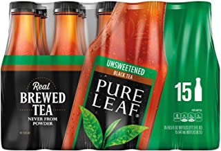 Pure Leaf Unsweetened Iced Tea 18.5 oz. bottles, 15 pk. A1