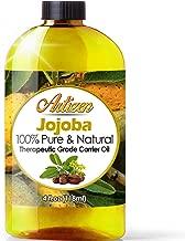 100% Pure Jojoba Oil (HUGE 4OZ BOTTLE) All-Natural Jojoba Oil – Cold Pressed - Perfect Moisturizer for Hair, Skin, Face, and Hair