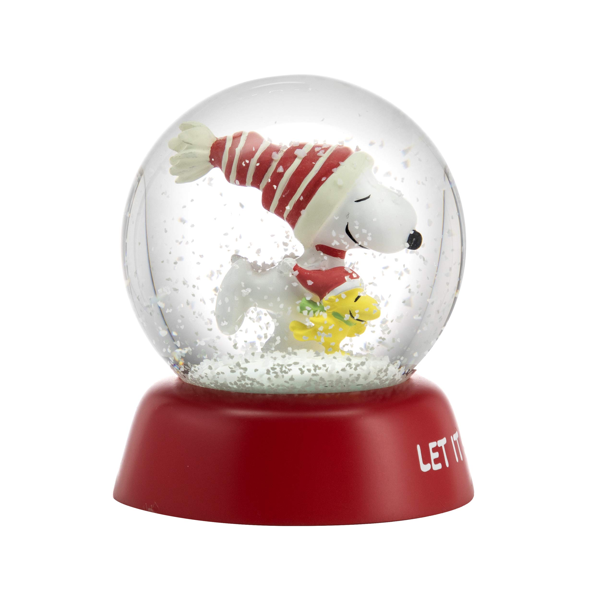 Image of Hallmark Christmas Peanut Snoopy Snowglobe