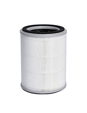 TOPPIN H13 True HEPA Air Filter Replacement Filter (white)