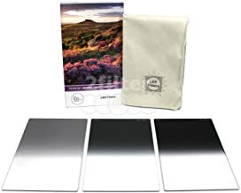 LEE Filters 100mm Graduated Neutral Density Soft Edge Filter Set (0.3, 0.6 and 0.9 Filters) 100x150mm