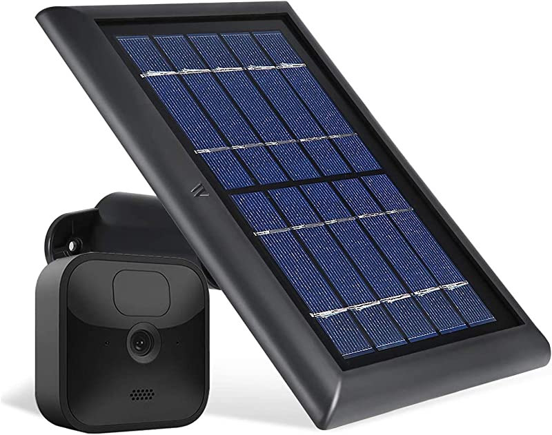 Wasserstein Solar Panel with Internal Battery Compatible with Blink Outdoor & Blink XT2/XT Camera