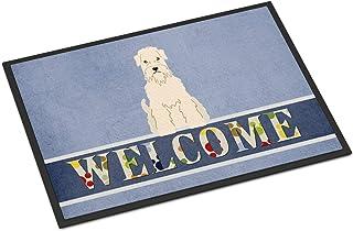 BIRSY Soft Coated Wheaten Terrier Welcome Doormat Multicolor 18x30(IN)