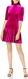 Black Halo Women's Short Sleeved Fit and Flare Mini