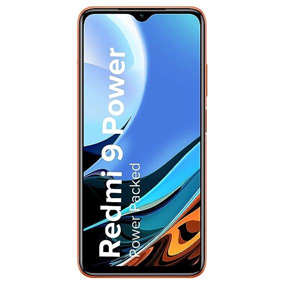 Redmi 9 Power (Blazing Blue, 6GB RAM, 128GB Storage) - 6000mAh Battery |FHD+ Screen | 48MP Quad Camera | Snapdragon 662 Processor
