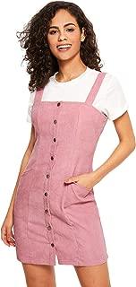 Women's Corduroy Overall Dress