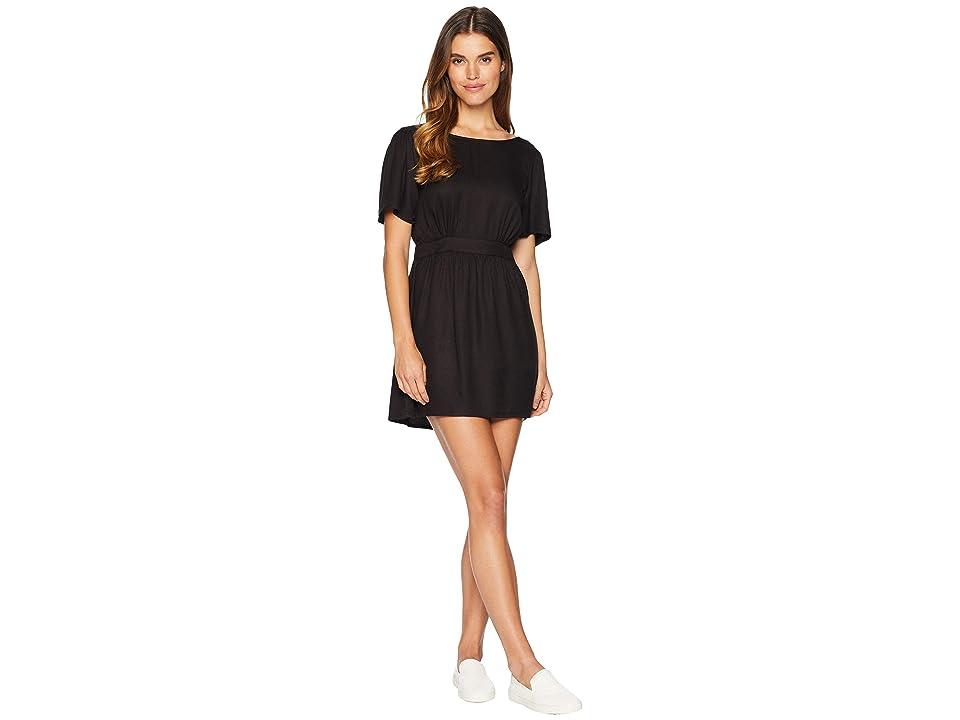 Amuse Society Say Hello Dress (Black) Women